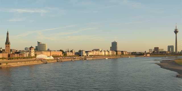 Rheinpanorama Düsseldorf